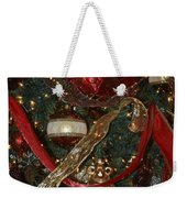 Red Gold Tree No 1 Fashions For Evergreens Event Hotel Roanoke 2009 Weekender Tote Bag