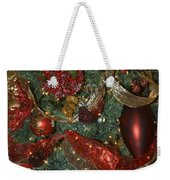 Red Gold Tree No 3 Fashions For Evergreens Event Hotel Roanoke 2009 Weekender Tote Bag