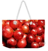 Red Grape Pano Weekender Tote Bag