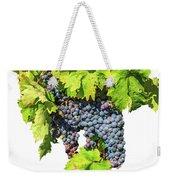 Red Grapes Seasonal Background Weekender Tote Bag