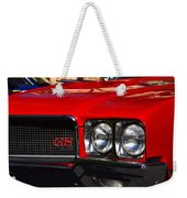 Red Gs Weekender Tote Bag