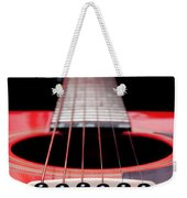 Red Guitar 16 Weekender Tote Bag