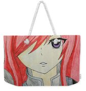 Red Haired  Weekender Tote Bag