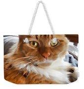 Red-haired Kitten Weekender Tote Bag