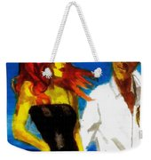 Red Head Looking For Mr Right  Weekender Tote Bag