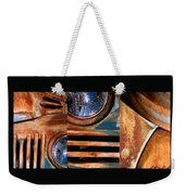 Red Head On Weekender Tote Bag