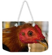 Red Headed Chicken Weekender Tote Bag