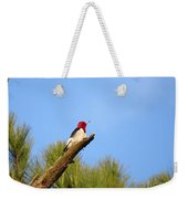 Red-headed Woodpecker Weekender Tote Bag