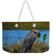 Red Heron Weekender Tote Bag