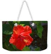 Red Hibiscus II Weekender Tote Bag