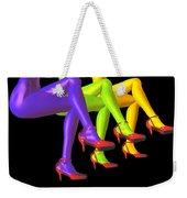 Red High-heeled Shoes Weekender Tote Bag