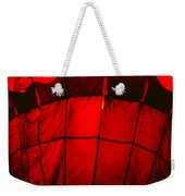 Red Hot Air Balloon Weekender Tote Bag