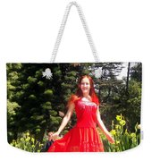 Red Hot - Ameynra Fashion By Sofia Metal Queen. Weekender Tote Bag