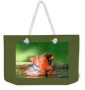 Red Hot Bath Weekender Tote Bag