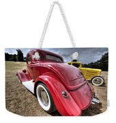 Red Hot Rod - 1930s Ford Coupe Weekender Tote Bag