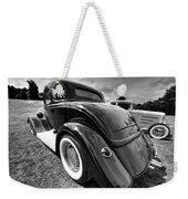 Red Hot Rod In Black And White Weekender Tote Bag