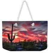 Red Hot Sonoran  Weekender Tote Bag