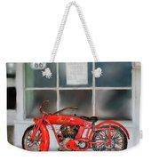 Red Hot Tail Gunner Weekender Tote Bag