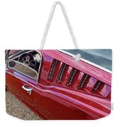Red Hot Vents - Classic Fastback Mustang Weekender Tote Bag