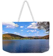 Red House Lake Allegany State Park Expressionistic Effect Weekender Tote Bag