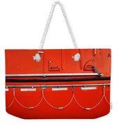 Red Hull Weekender Tote Bag