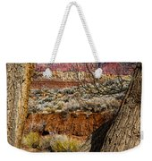 Red In The Distance Weekender Tote Bag