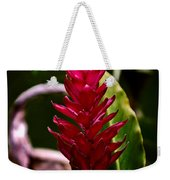 Red In The Forest Weekender Tote Bag