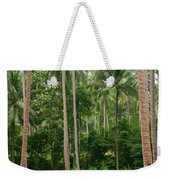 Red In The Jungle Weekender Tote Bag