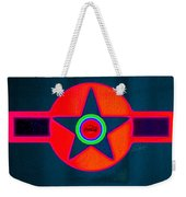 Red Intense Weekender Tote Bag