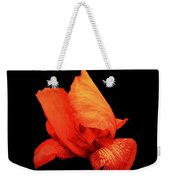Red Iris Weekender Tote Bag