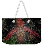 Red Lady Slipper Weekender Tote Bag