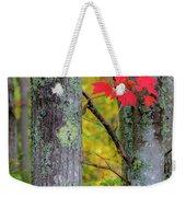 Red Leaves Weekender Tote Bag by Gary Lengyel