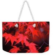 Red Leaves In Fall  Weekender Tote Bag