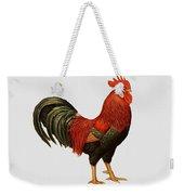 Red Leghorn Rooster Weekender Tote Bag