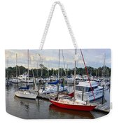 Red Letter Day Weekender Tote Bag