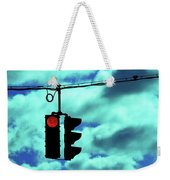 Red Light Weekender Tote Bag