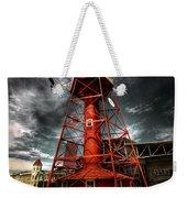 Red Lighthouse Weekender Tote Bag