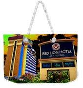 Red Lion Hotel In Spokane Weekender Tote Bag