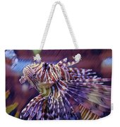 Red Lionfish Art Weekender Tote Bag