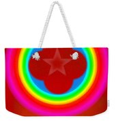 Red Logo Weekender Tote Bag