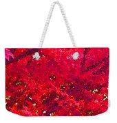 Red Maple 2 Version 1 Weekender Tote Bag