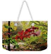 Red Maples Weekender Tote Bag