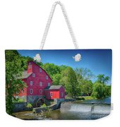 Red Mill Of Clinton New Jersey Weekender Tote Bag