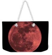 Red Moon Weekender Tote Bag