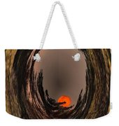 Red Moon Rising Weekender Tote Bag