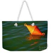 Red Mooring Buoy Weekender Tote Bag