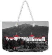 Red Mount Washington Resort Weekender Tote Bag