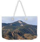 Red Mountain In The Foothills Of Pikes Peak Colorado Weekender Tote Bag