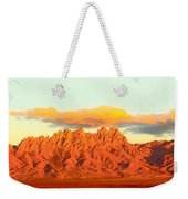 Red Mountain Sunset Organs Weekender Tote Bag