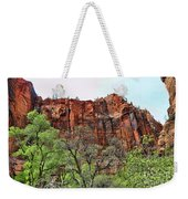 Red Mountains Zion National Park Usa Weekender Tote Bag